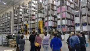 Besuch des Papierherstellers IGEPA in Hemmigen.