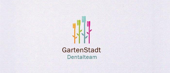 Logodesign Dentallabor - charmant, sympatisch, einzigartig. Als Designerin gestalte ich Ihr neues Logo oder überarbeite Ihr vorhandenes.