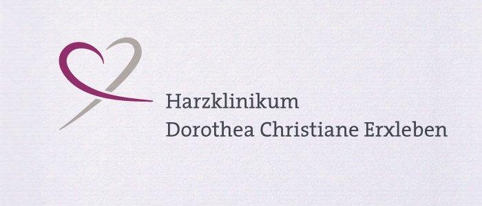 Logodesign für das Harzklinikum. Gestaltung eines neuen Logos anläßlich der Fusion der Krankenhäuser.