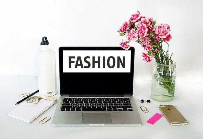 Webdesign für Modeblog
