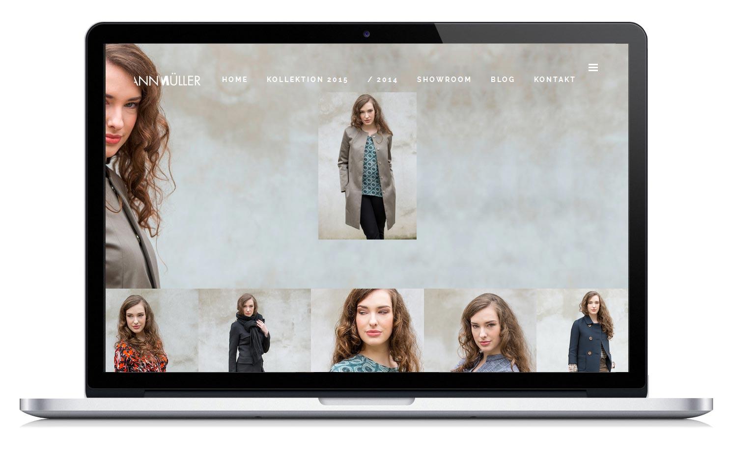 Homepage - Die Kollektion der Modedesignerin Online.