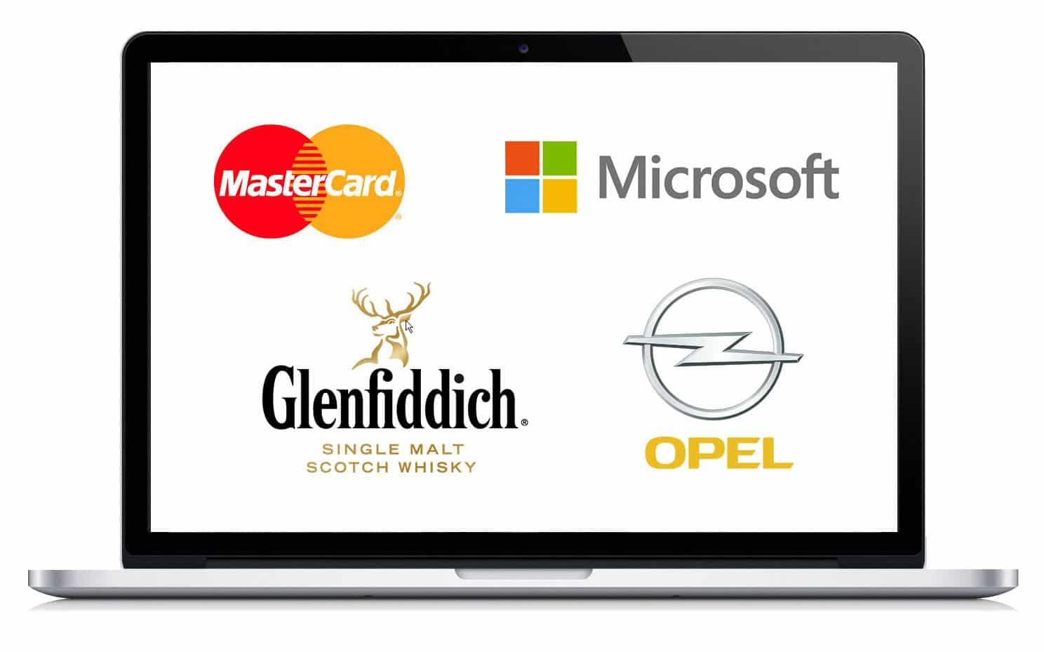 Referenzen - Digitales Branding - Marken im Internet - Von der Homepage bis zum Car Konfigurator.