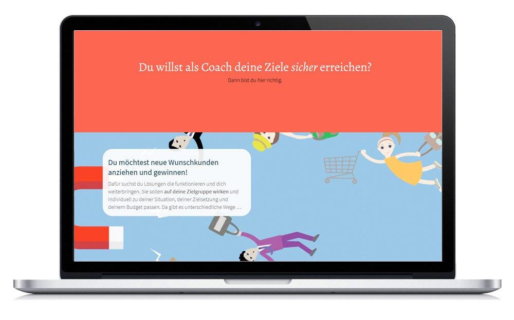 Homepage Strategie, Gestaltung, Umsetzung;