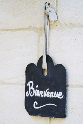 Bienvenue - Eine Website wie ein Laden, in dem Kuden sich wohlfühlen.