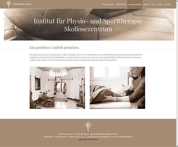 Wordpress Website für die Praxis in Hannover