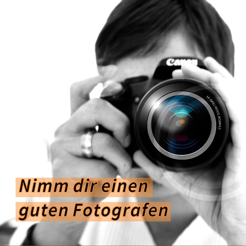 Fotograf statt Bildersuche im Internet