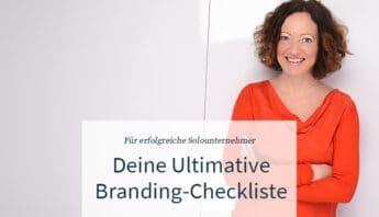 Branding-Checkliste für Solounternehmer