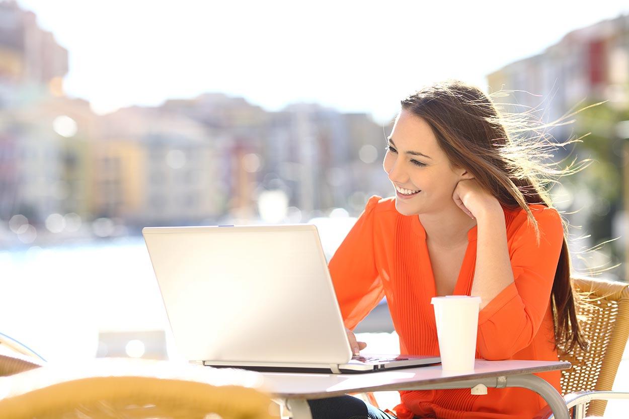 Andreas WOW-Webseite ist einladend, wie ein schönes Geschäft, in das man gerne geht.