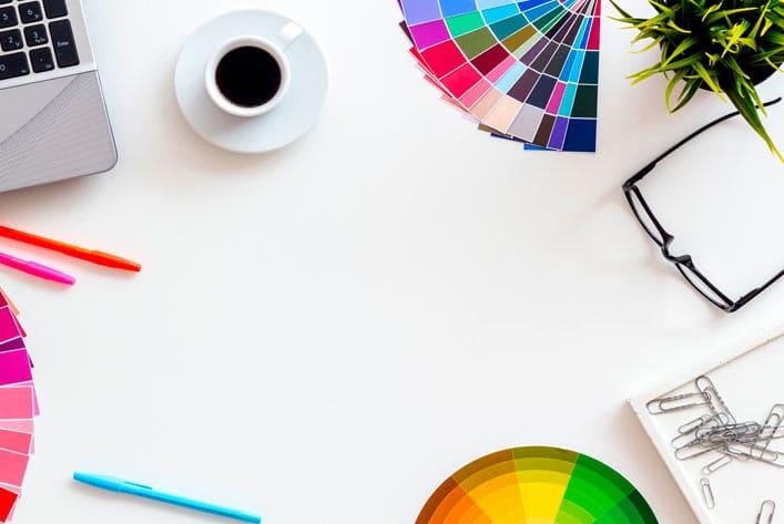Webdesign Grafikdesign - Mein Arbeitsplatz in Hannover