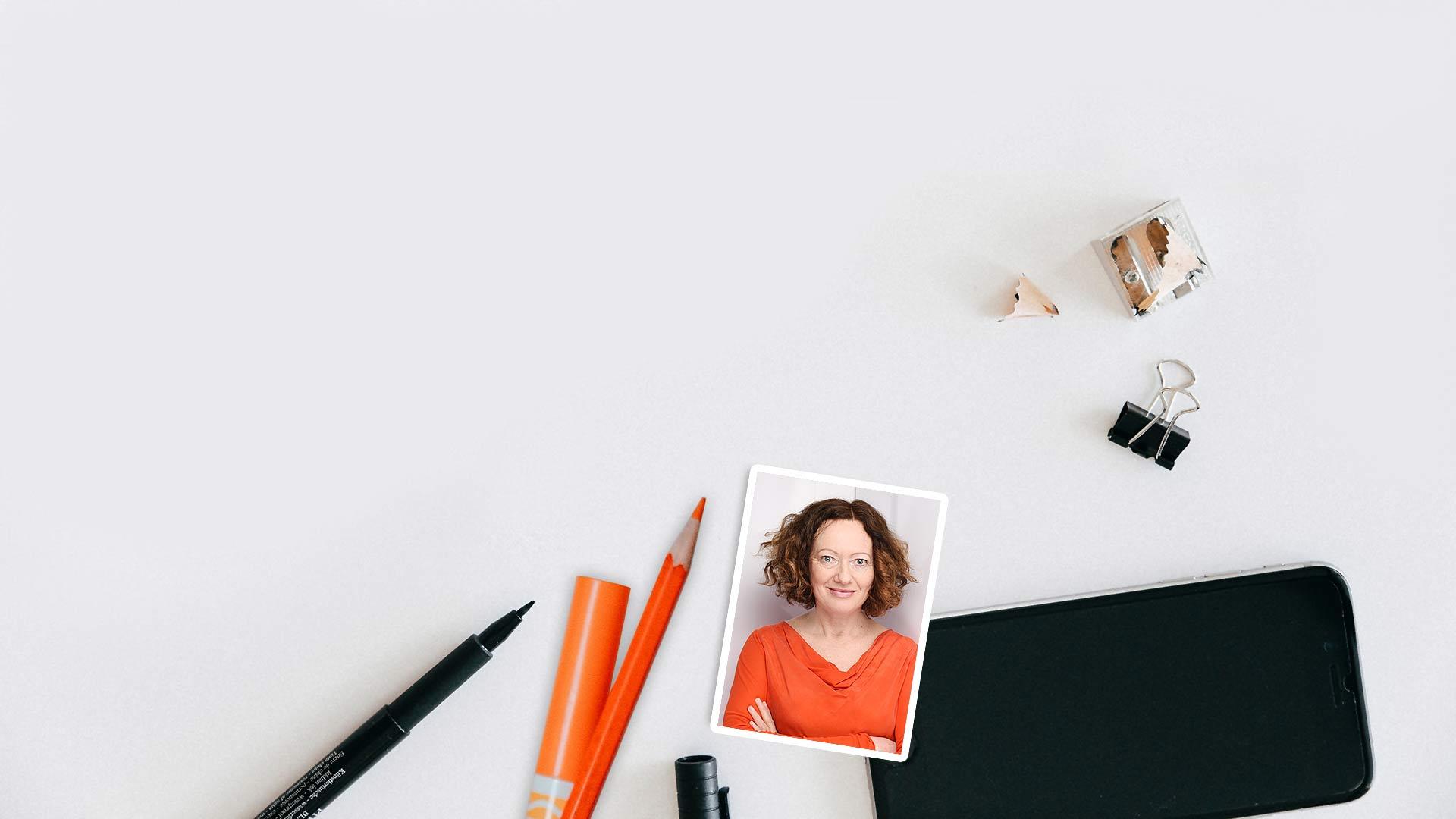 Webdesignerin. Grafikdesignerin. Kreative 1-Frau-Agentur aus Hannover