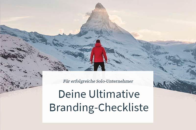 Ultimative-Branding-Checkliste für Solounternehmer.