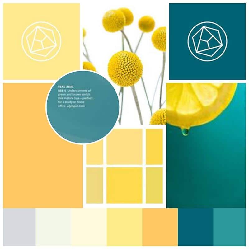 Moodboard für Branding von Annette